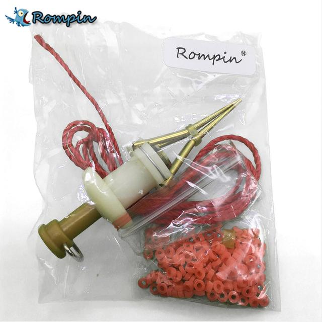 Rompin Earthworm Bloodworm Clip Bait Clip Earthworm Clip Fishing Tackle Fishing Tools Fishing Baits