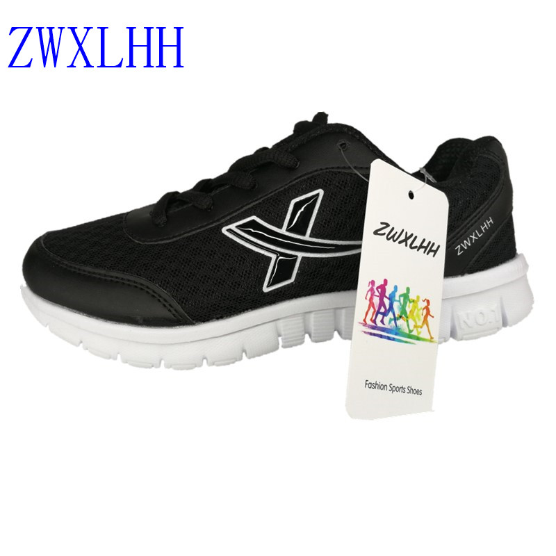 2017 ZWXLHH women's sport running shoes Lady walking shoes breathable mesh women's athletic shoes size EU 36-46