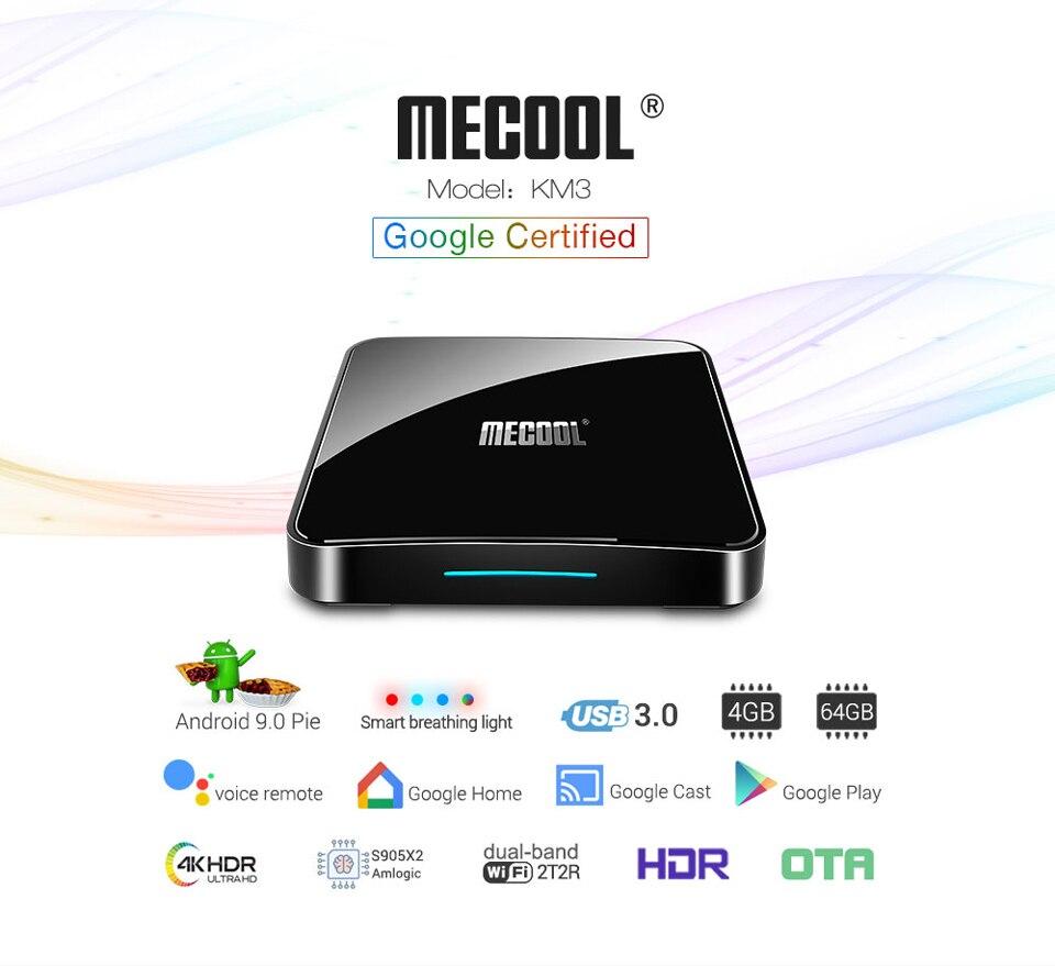KM3 IPTV France Spain Arabic Android 9.0 SUBTV Subscription 1 Year Code 4G 64G BT 4.0 4K IPTV Canada Finland Italy France IPTV   (1)
