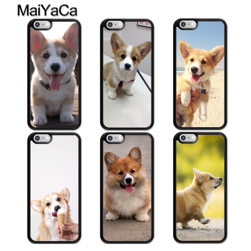 Alert Maiyaca Welsh Corgi Puppy Dog Tpu Phone Case For Iphone X Xr Xs Max 6s 6 7 8 Plus 5s Se Rubber Bcak Cover Coque Shell Rich And Magnificent