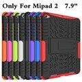 """Противоударный Heavy Duty Резина Hard Case Cover Для Xiaomi Mipad 2 7.9 """"падение Доказательство Таблетки Hard Shell Для Xiaomi Mi Pad 2 Стилус"""