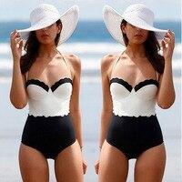 Swimwear Woman Printing One Piece Swimsuit Monokini Swim Dress Padded Bathing Women S Swimming Suit Summer