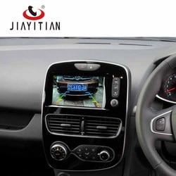 JIAYITIAN kamera dla Renault Clio 4 IV RS 2012 2013 2014 2015 2016 2017 kamera cofania/ekran OEM kabel adapter widok z tyłu aparatu/zestaw w Kamery pojazdowe od Samochody i motocykle na