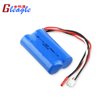 7.4V 1500mAh Li Battery for MJX F45 RC Helicopter Accessories RC Drone Spare Parts