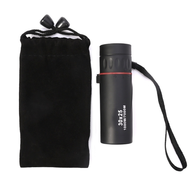 Monocular Telescope Low Night Light Vision 30x25 Hunting Concert Mini Portable
