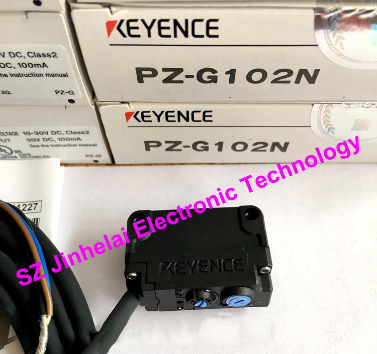 100% New and original PZ-G102N KEYENCE Photoelectric switch, Photoelectric sensor pz 101 keyence photoelectric sensor