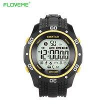 FLOVEME Smart Uhren Sportuhr Wasserdichte Armband Schrittzähler Gesundheit Uhr Für Android iOS Armband Bluetooth 4,0 Smartwatch