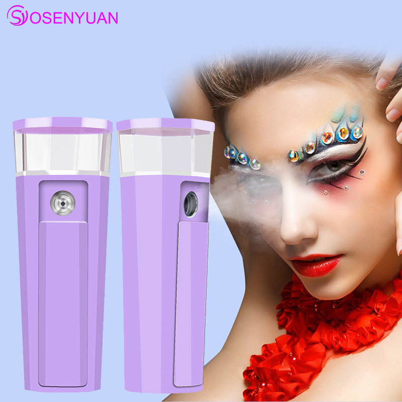 Portable Face Spray Bottle Nano Mister Facial Hair Steamer