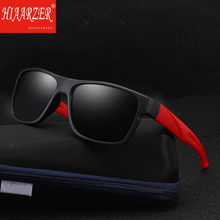 2018 High Quality HD Polarized Rectangle Sunglasses Men Women Luxury Brand Sports Goggle Driving UV400 Sun Glasses With Package