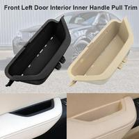 ABS PC Material Car Front Left Door Interior Inner Handle Pull Trim for BMW X3 F25 X4 F26 2011 2017 Car Accessories