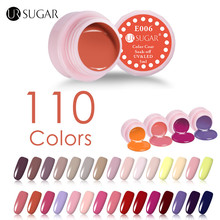 UR SUGAR 110 Colors Soak off Painting Gel 5ml Pink Colors Solid LED/UV Gel For Nail Design Paint Color Gel Nail Varnish