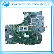 Для ASUS N53JL N53JN N53JF N53JG материнская плата ноутбука 2RAM СЛОТ с 1 ГБ RAM 100% тестирование в порядке Высокое Качество