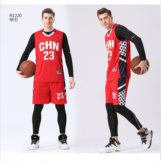 check out 9eb29 4a820 US $10.59 47% OFF|4PCS/Set Winter Basketball Jersey With Compression Tights  Mens Sports Tights Sports Jerseys Basketball Shirt Fitness Workout Kit-in  ...