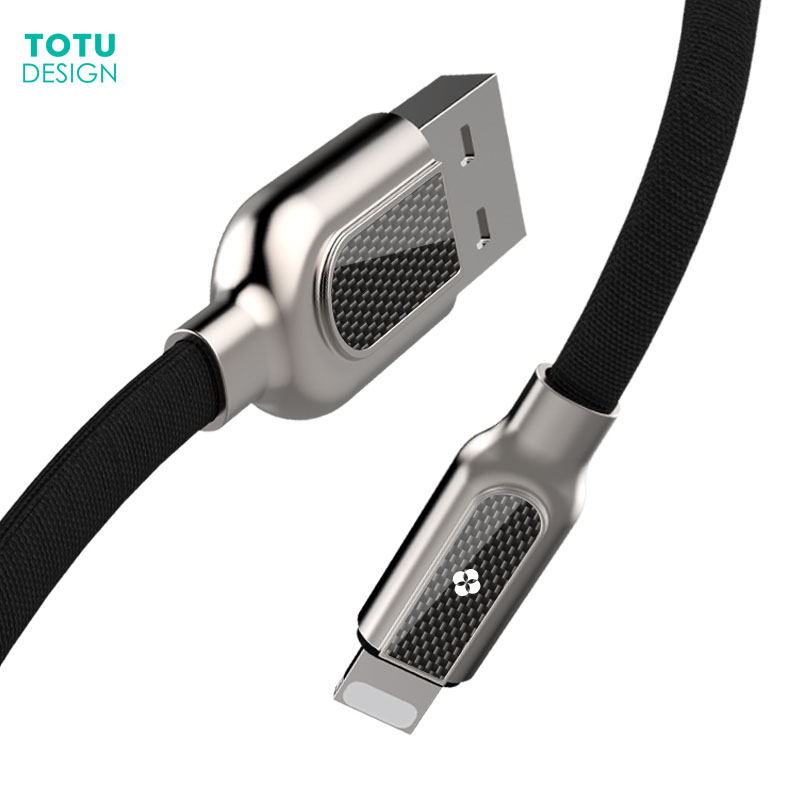 TOTU Mobile Phone Cables For iPhone 8 7 6 6S Plus 5 5C 5S SE Fast Charging Cable Cord For iPad Air Mini 8 Pin Charger Data Cable