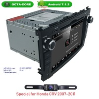 OctaCore 2 32 MonitorForHONDA CRV CR V 2006 2011 In Dash Car Stereo Kit DVD Player