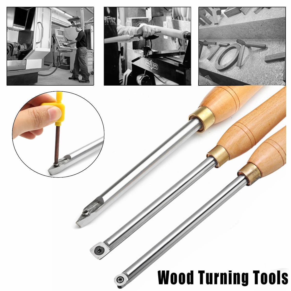 Diamant Runde Oder Platz Hartmetall Holz Drehen Werkzeuge Mit Einsatz Gerade Set Holzbearbeitung Werkzeug
