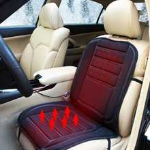 1PCS Car Auto Heated Seat Cushion Hot Warmer Heat Cover Heating Pad Winter 12V 1Seat Free Shipping high quality free shipping for heat seat pad jade heated pad household jade massage seat cushion for sale free shipping