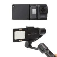 Gopro 5 4 3 Xiaoyi Switch Mount Plate Adapter For DJI Osmo Mobile Zhiyun Smooth Q