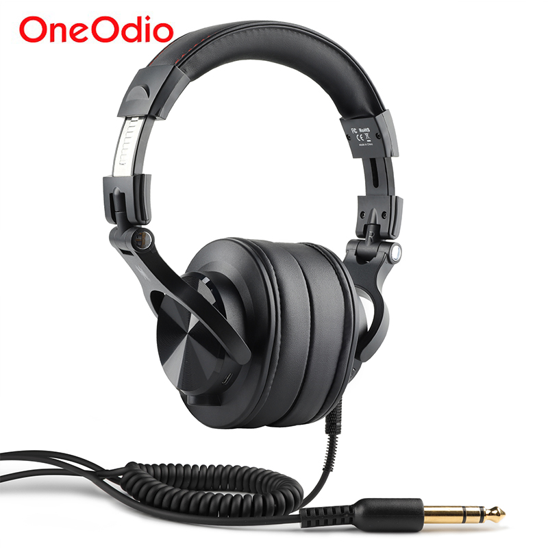Oneodio Fusion Professional Wired Studio DJ Headphones Wireless Bluetooth 4 0 Headset HIFI Stereo Monitor Headphone