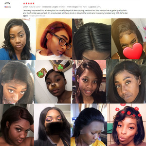 Image 5 - FDX Indian Hair Lace Frontal Closure 13x4 Swiss Lace With Baby Hair Natural Human Hair 8 10 12 14 16 18 20 Inches remy straight