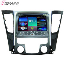 Top Professional  Quad Core Android 4.4 Car DVD GPS for HYUNDAI SONATA With Mirror Link Wifi BT 16GB Flash Free Map