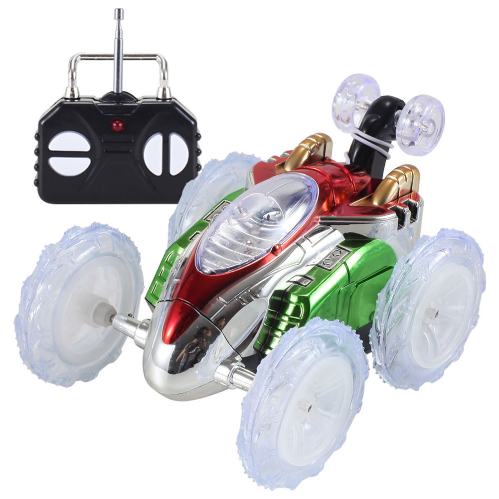 Funny Mini RC Car Remote Control Toy Stunt Car Monster Truck Radio Electric Dancing Drift Model Rotating Wheel Vehicle Motor