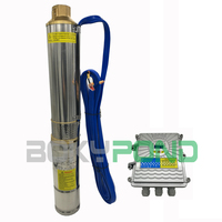 DC 48,120W Solar Powered Deep Well Submersible Water Pump With Controller
