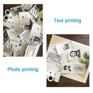 Image 3 - Mini imprimante thermique Bluetooth Portable, appareil Photo de poche, pour iOS Android, Paperang