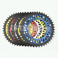 520 43T Motorcycle Rear Sprocket With Color For Kawasaki KLR650 KL650A1 A19 KL650B1 Tengai KLX650