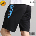 HOT 2016 Summer Style Camouflage Patchwork Zipper Pocket Breathable Loose Game Fitness Bodybuilding mens shorts Men Plus Size
