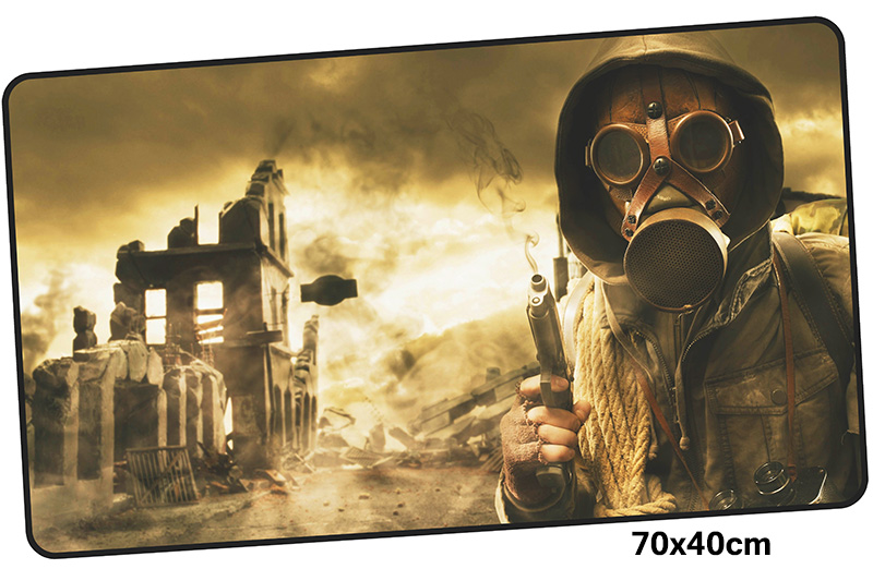stalker mousepad gamer 700x400X3MM gaming mouse pad large gel notebook pc accessories laptop padmouse ergonomic mat