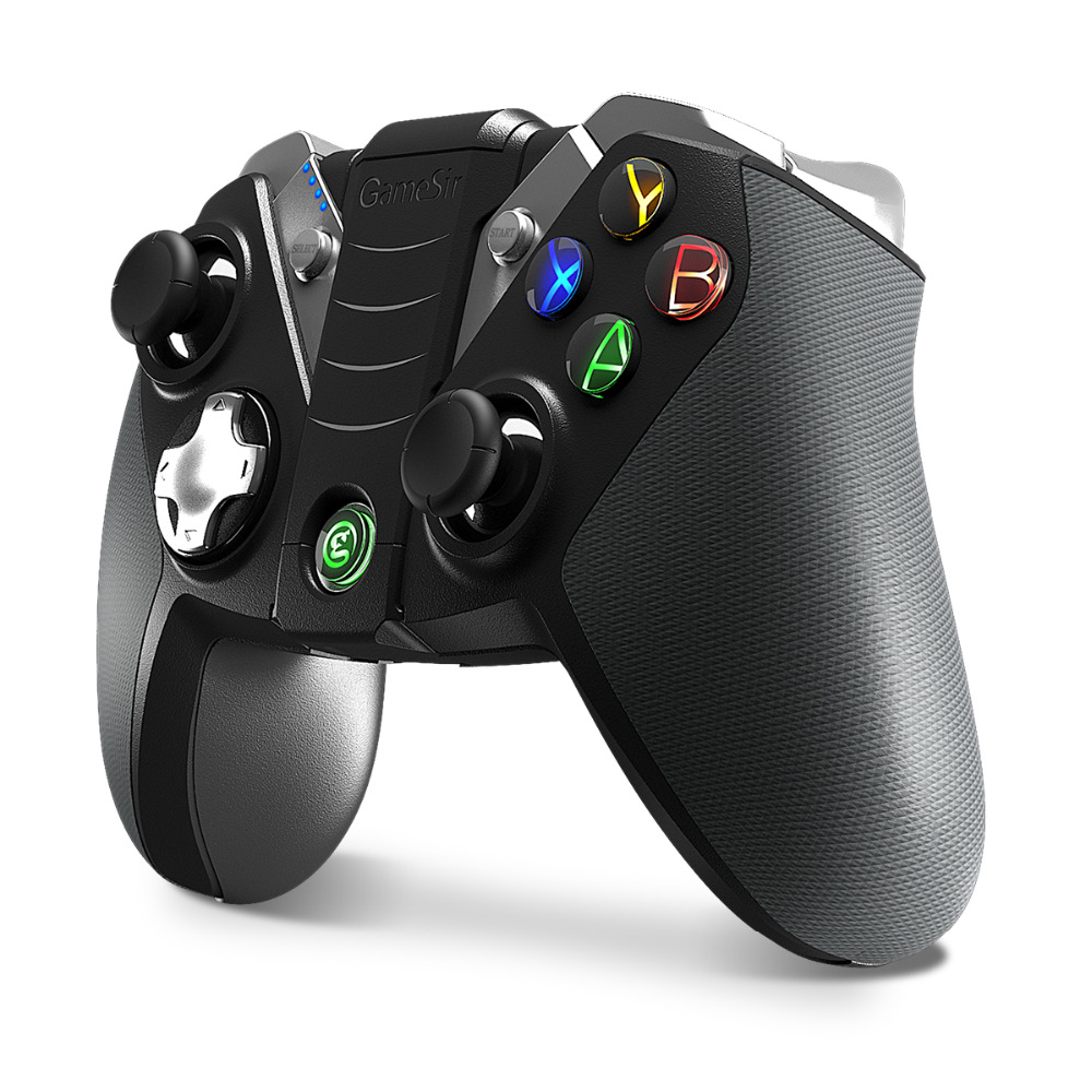 GameSir G4s Wireless Bluetooth Gamepad game Joystick play for Android TV BOX Smartphone Tablet PC VR, with 2.4G USB DongleGameSir G4s Wireless Bluetooth Gamepad game Joystick play for Android TV BOX Smartphone Tablet PC VR, with 2.4G USB Dongle