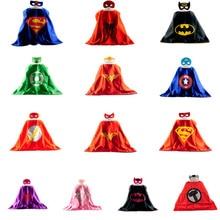 Mask cape superman spiderman font b kids b font superhero capes batman superhero font b costume