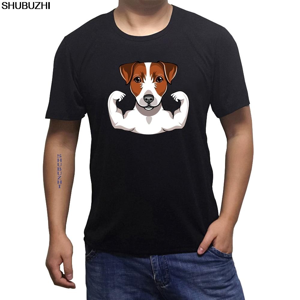 US $6 62 15% OFF|JACK RUSSELL Terrier T Shirt Hashtag Hunderasse Tee Herren  Damen Tiere Haustier Cool Casual pride t shirt men sbz395-in T-Shirts from