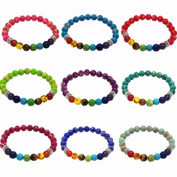 8mm beads strand bracelets for women men yoga balance energy healing reiki prayer stone 7 chakra.jpg 250x250