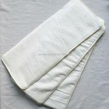 [Sigzagor] 3 вставки для подгузников для взрослых, моющиеся многоразовые тканевые подгузники, подкладка из микрофибры, 4 слоя, 20x49 см