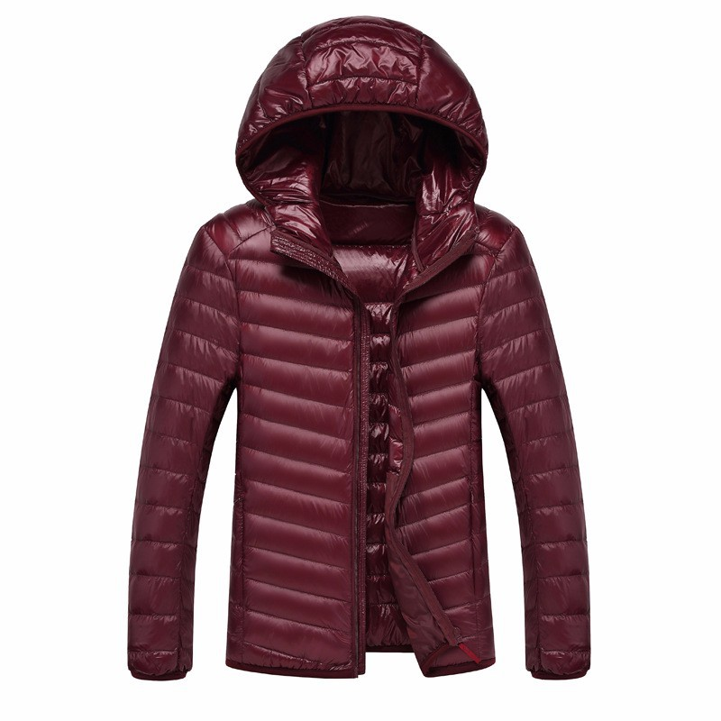 2019 Winter 90% duck down  New Jacket Men Warm Coat Fashion Casual Parka Coat Men For Winter