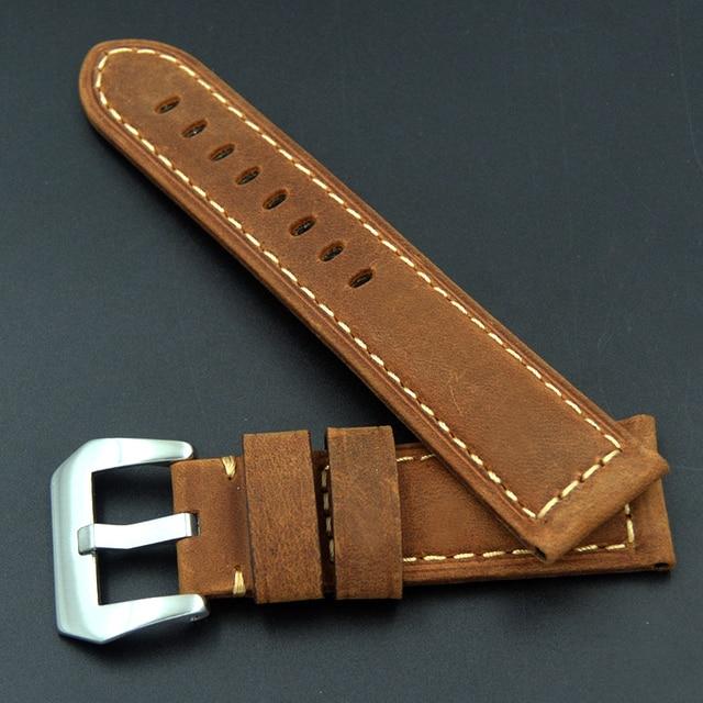 Фото быстрая доставка высокое качество кожаный ремешок для часов