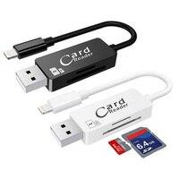 SunDigit High Quality USB2 0 Card Reader TF Micro SD Card USB Adapter Lightning USB SD
