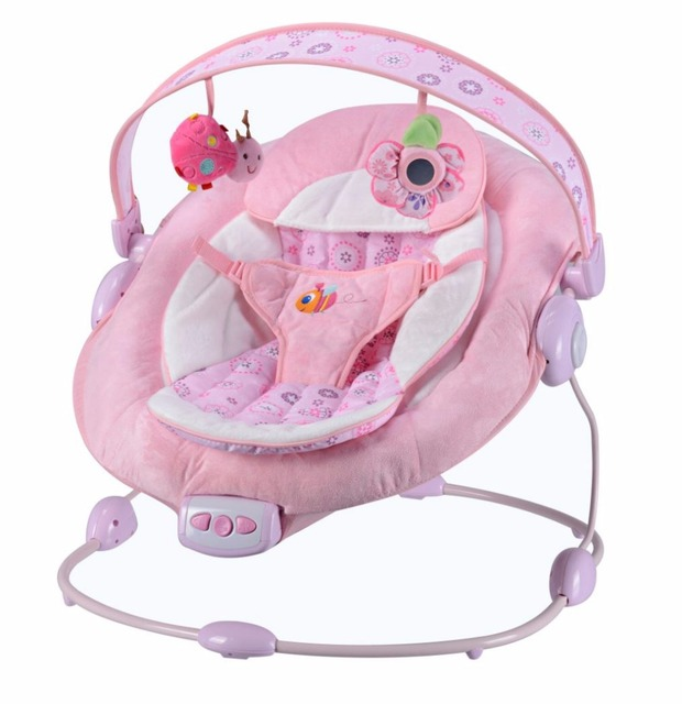 Automatic Baby Vibrating Chair Musical Rocking Chair Electric Recliner Cradling Baby Bouncer Swing Free Shipping