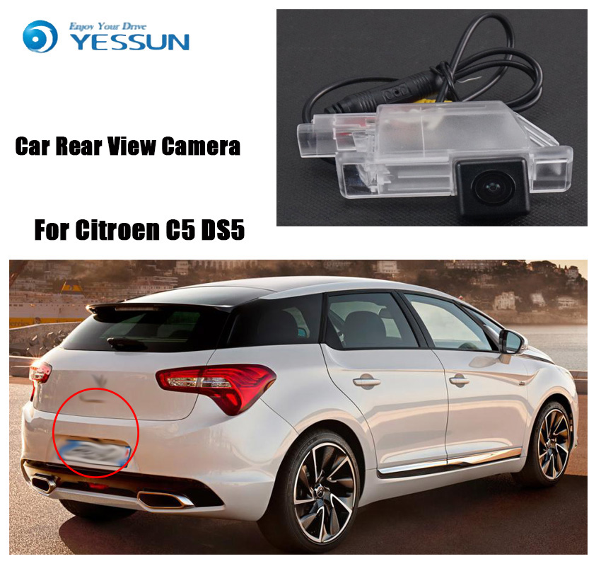 YESSUN For Citroen C5 DS5 for Citroen C4 2012 2013 Car Rear View Back Up Reverse Parking Camera Waterproof Night vision CCD HD