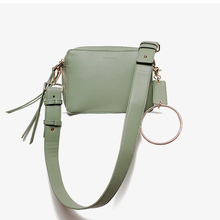 MICOCAH Double Zipper Casual Bag Tassel Design Handbag Women Metal Ring Handle Crossbody Bags Black/Green/Apricot HSD136 цена и фото