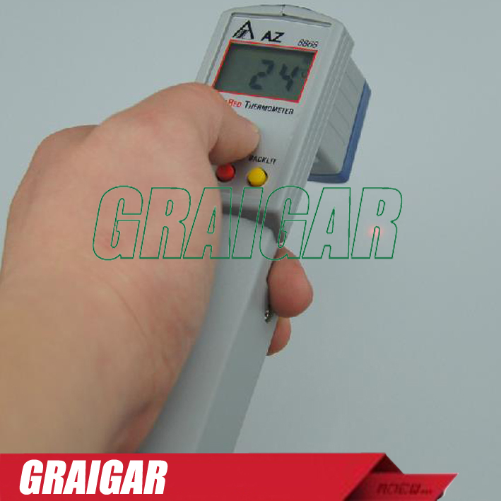 AZ8868 Digita Infrared AZ-8868 Thermometer,8868 Gun Type IR Thermometer линза для маски женская roxy isis bas lns orange