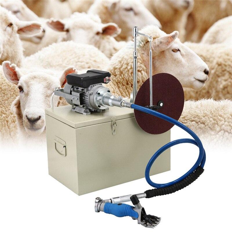 Высококачественная электрическая для стрижки овец, машинка для стрижки овец, ножницы, ножницы, машинка для стрижки козьей шерсти 110 В/220 В