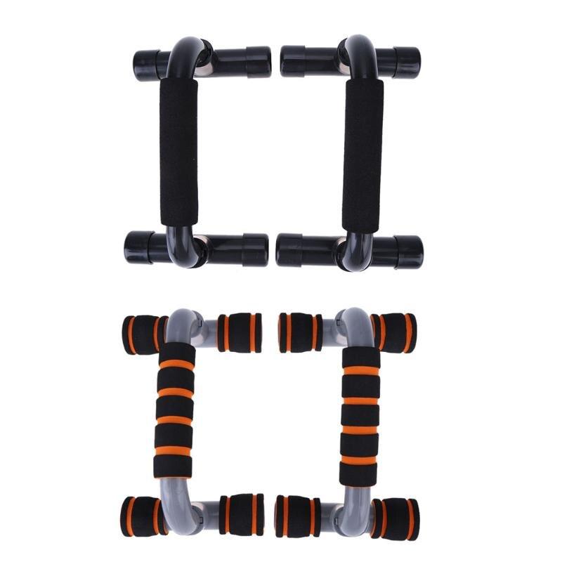 1 Para Fitness Drücken Pushup Steht Bars Sport Gym übung Training Brust Bar Schwamm Handgriff Trainer Für Körper gebäude