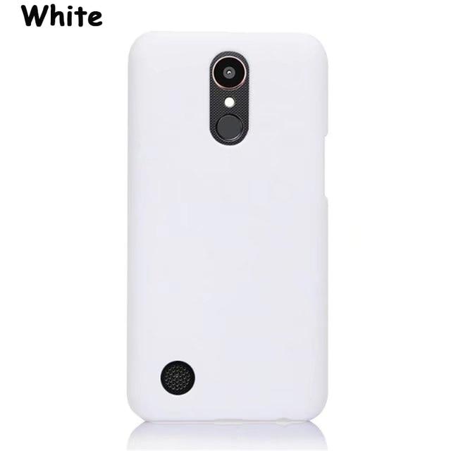 White Phone case lg k20 flip 5c64f48292983