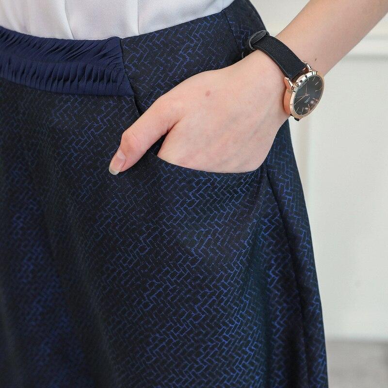 Casuales Azul Harén Streetwear Brocado Voa Oscuro Mucho Las K827 Tiempo Spodnie Chino Mujeres Seda Durante Harajuku 100 Pantalones De Damskie qtn7Ut
