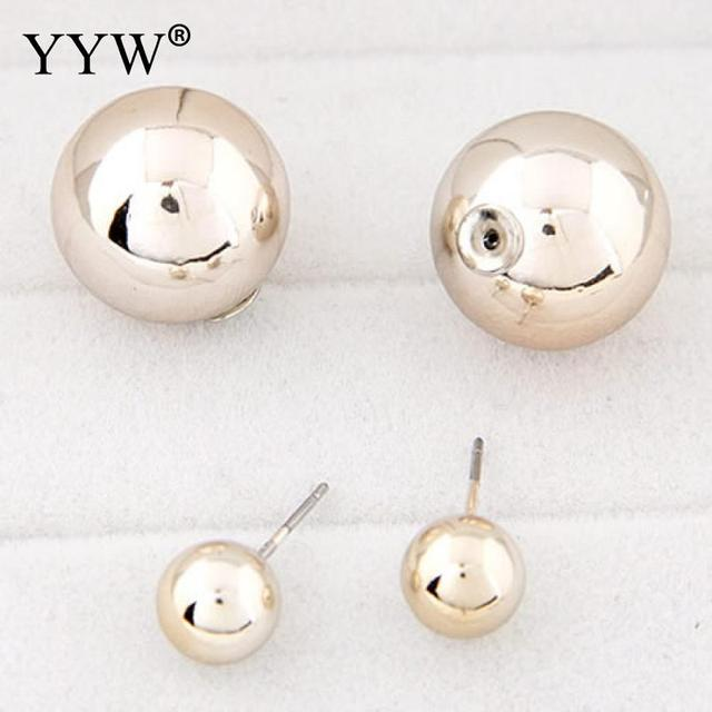 Simple Round Magnetic Double Side Stud Earrings For Women Man Gold Color No Hole Earring Punk.jpg 640x640 - Simple Round Magnetic Double Side Stud Earrings For Women Man Gold Color No Hole Earring Punk Rock Aretes Joyas Masculino Bijoux