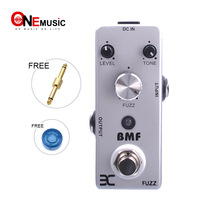 Eno BMF FUZZ Guitar Pedal Classic distortion Effects Pedal Full metal shell True By Pass + Free Connector