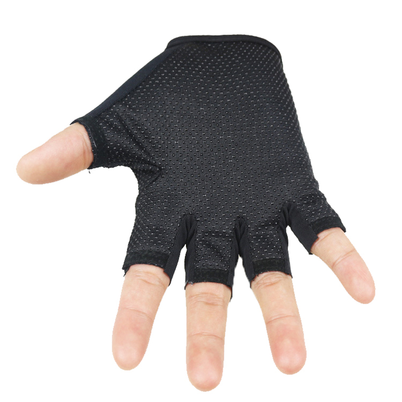 Long Keeper Kids Fingerless Gloves Sports Work Out Guantes For 5-13 Year Kids Cute Lucky Doll Boys Girls Gloves Children Luvas